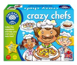 *Brand New* Orchard Toys Crazy Chefs Educational Kids Role Play Board Game Toy